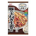 グリコ バランス食堂 豚の玉ねぎ生姜炒めの素 74g