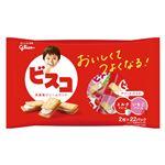 グリコ ビスコ アソートパック ミルククリーム&いちごクリーム 2枚×22パック入