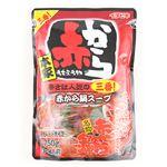 イチビキ 赤から鍋スープ 3番 ストレート 750g(3~4人前)