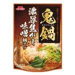 イチビキ 鬼鍋濃厚焦がし味噌鍋スープ 750ml