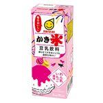 マルサン 豆乳飲料かき氷れん乳いちご 200ml