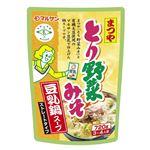 マルサンアイ とり野菜みそ豆乳鍋スープ 720g