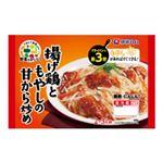 伊藤ハム 野菜をおいしく 揚げ鶏ともやしの甘から炒め 220g