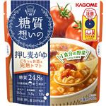 カゴメ 糖質想いの押し麦がゆごろっとお豆と完熟トマト 250g