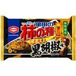 亀田製菓 亀田の柿の種ごま油香る黒胡椒味 6袋詰 182g