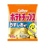 カルビー ポテトチップス うすしお味 60g