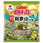 カルビー ポテトチップスぶどう山椒味 55g