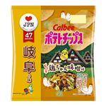 カルビー ポテトチップスピリ辛鶏ちゃん味噌味 55g