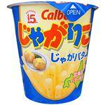 【1/26(火)~1/27(水)配送】カルビー じゃがりこじゃがバター 58g