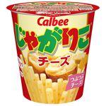 【1/26(火)~1/27(水)配送】カルビー じゃがりこチーズ 58g