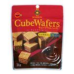 ブルボン キューブウエハースチョコクリーム 34g
