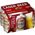 キリンビール ラガービール 350ml×6缶入