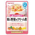 【12ヶ月頃~】キユーピー 鮭と野菜のクリーム煮 80g(ハッピーレシピ)