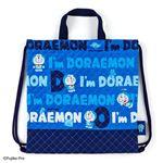 【3歳頃~】I'm Doraemon キルト手紐巾着(D)
