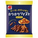 三幸製菓 甘くて堅い魅惑のお菓子 かりかりツイスト キャラメル味 57g