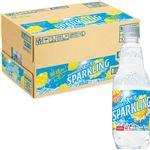 【ケース販売】サントリーフーズ 天然水スパークリングレモン 500ml×24