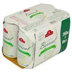 トップバリュ バーリアル 3つのフリー 350ml×6缶入(ノンアルコール)