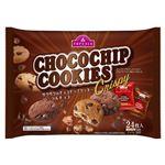 トップバリュ サクサクのチョコチップクッキー バニラ&チョコ 24枚