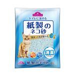 【ペット用】トップバリュ 紙製のネコ砂 8L
