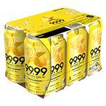 サッポロビール 99.99クリアレモン 350ml×6