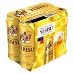 サッポロビール エビスビール 500ml×6