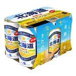 サッポロビール 北海道 奇跡の麦 きたのほし 350ml×6
