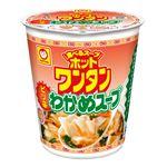 マルちゃん ホットワンタンピリ辛わかめスープ 45g