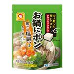 東洋水産 マルちゃん お鍋にポンッと入れるだけ 鶏だし塩鍋つゆ 30g(5gX6)