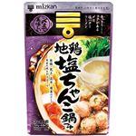 ミツカン 〆まで美味しい 地鶏塩ちゃんこ鍋つゆ ストレート 750g