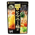 ミツカン 〆まで美味しい とんこつしょうゆ鍋つゆ ストレート 750g