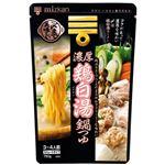 ミツカン 〆まで美味しい 濃厚鶏白湯鍋つゆ 750g