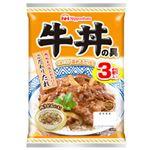日本ハム 牛丼の具 120g×3袋