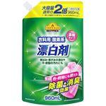 トップバリュ 衣料用酸素系漂白剤(濃縮タイプ)つめかえ用 大容量 960ml