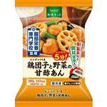 日本水産 レンジでつくる 鶏団子と野菜の甘酢あん 200g