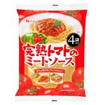 ハウス食品 完熟トマトのミートソース4袋入 520g(130g×4袋)