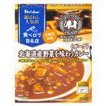 ハウス食品 選ばれし人気店 北海道産野菜を味わうカレー ポーク 中辛 180g