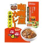 ハウス食品 カリー屋カレー小盛サイズ甘口 600g(150g×4袋)