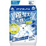 白元アース アイスノン 極冷え洗顔シート 20枚×2個入