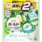 P&G ボールド ジェルボール 3D グリーンガーデン&ミュゲの香り つめかえ用 超特大サイズ 576g(30個)