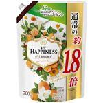 P&G レノアハピネス ナチュラルフレグランス アプリコット&ホワイトフローラルの香り つめかえ用 特大サイズ 700ml