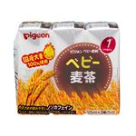 【1ヶ月頃~】ピジョン 紙パック ベビー麦茶 125ml×3個パック