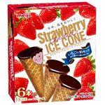 明治 ストロベリーチョコレートアイスコーン 36ml×6本