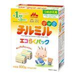 【1歳頃〜】森永乳業 チルミル エコらくパック つめかえ用 400g×2
