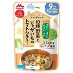 【9ヶ月~12ヶ月頃】森永乳業 10種野菜とじゃがいものトマトシチュー