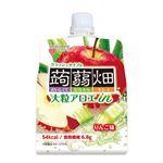 マンナンライフ 大粒アロエinクラッシュタイプの蒟蒻畑りんご味 150g