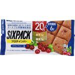 UHA味覚糖 SIXPACKプロテインバー クランベリー袋 40g