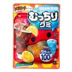 UHA味覚糖 むっちりグミレモンコーラ&ソーダ 100g