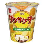 おやつカンパニー サクサクチー4種のチーズ味 40g
