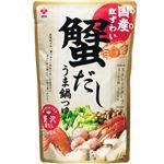 盛田 国産紅ずわい蟹だし うま鍋つゆストレートタイプ 750g