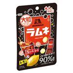 森永製菓 大粒ラムネ(スーパーコーラ&レモン)38g